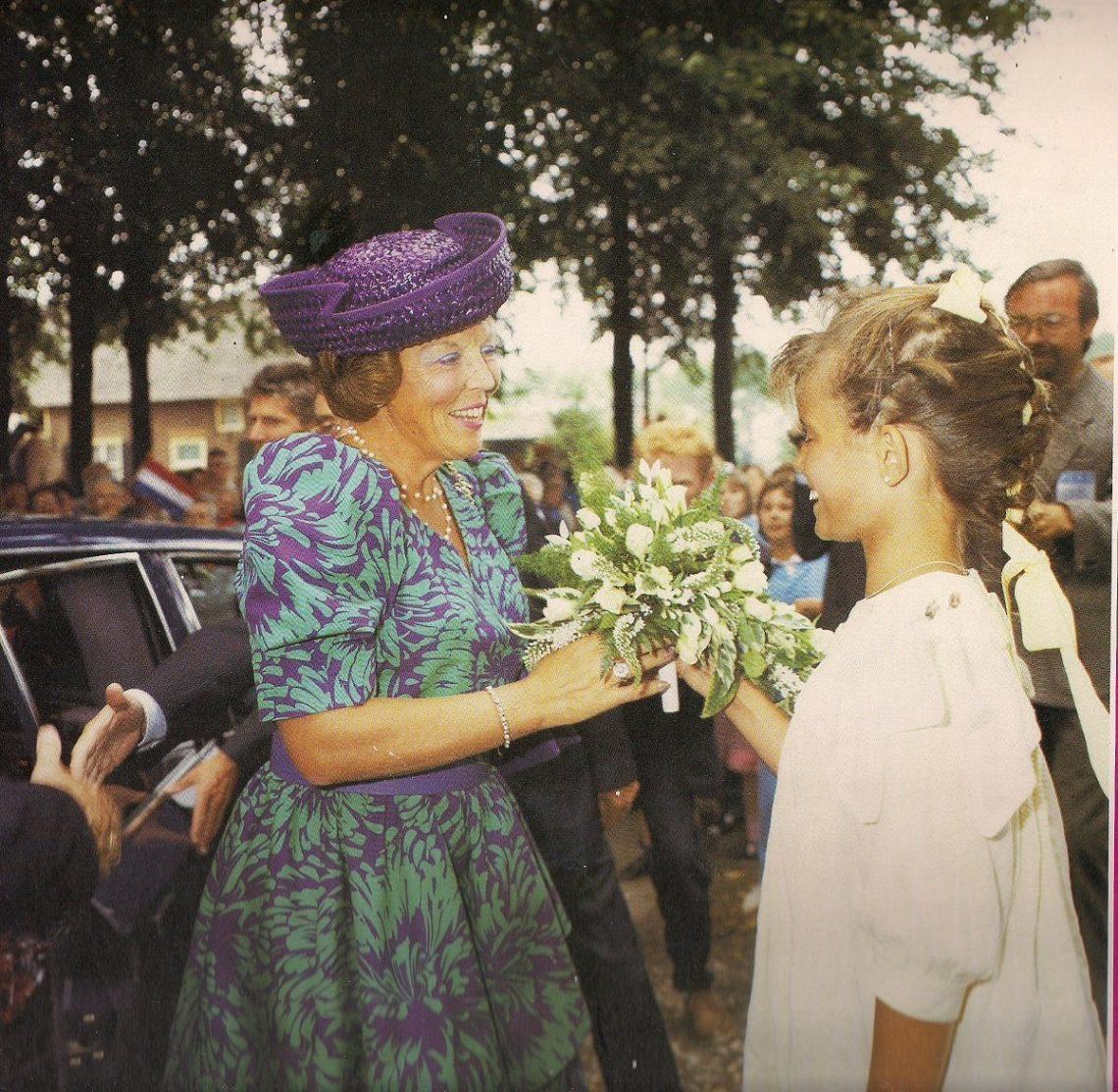 Didie Schackman en Koningin Beatrix