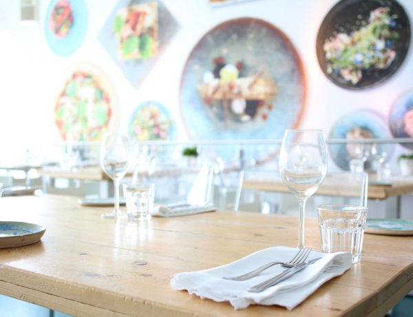 mindful eten in restaurant biologisch