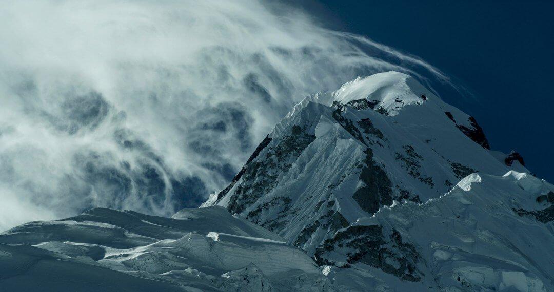 bergen in een film