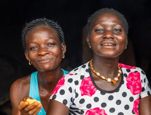 cacao boerinnen in Afrika