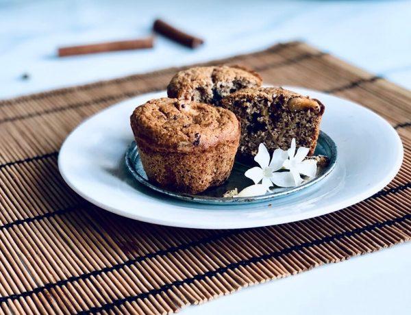 kruiden cupcakes met honing