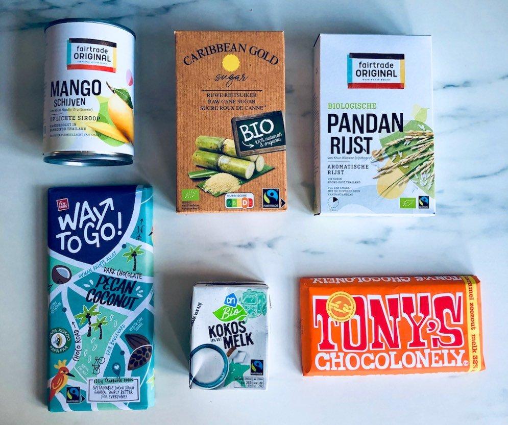 Fairtrade food pakket