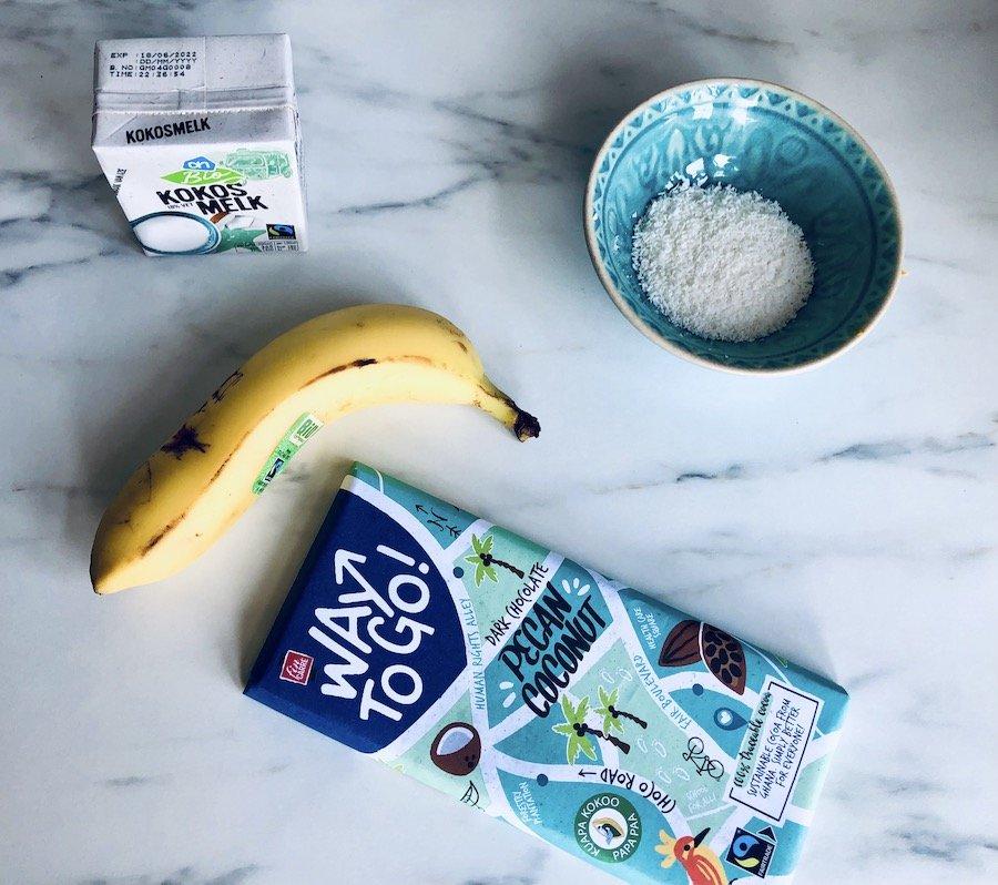 Fairtrade ijs ingredienten