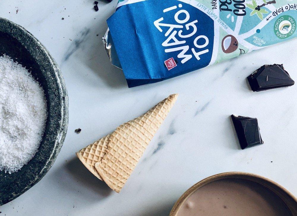 Lidl Fairtrade chocolade ijs