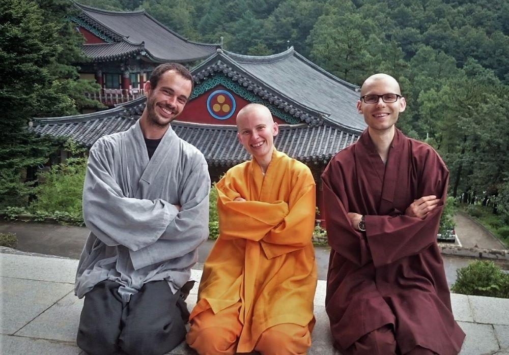 zen leraar geeft retraite